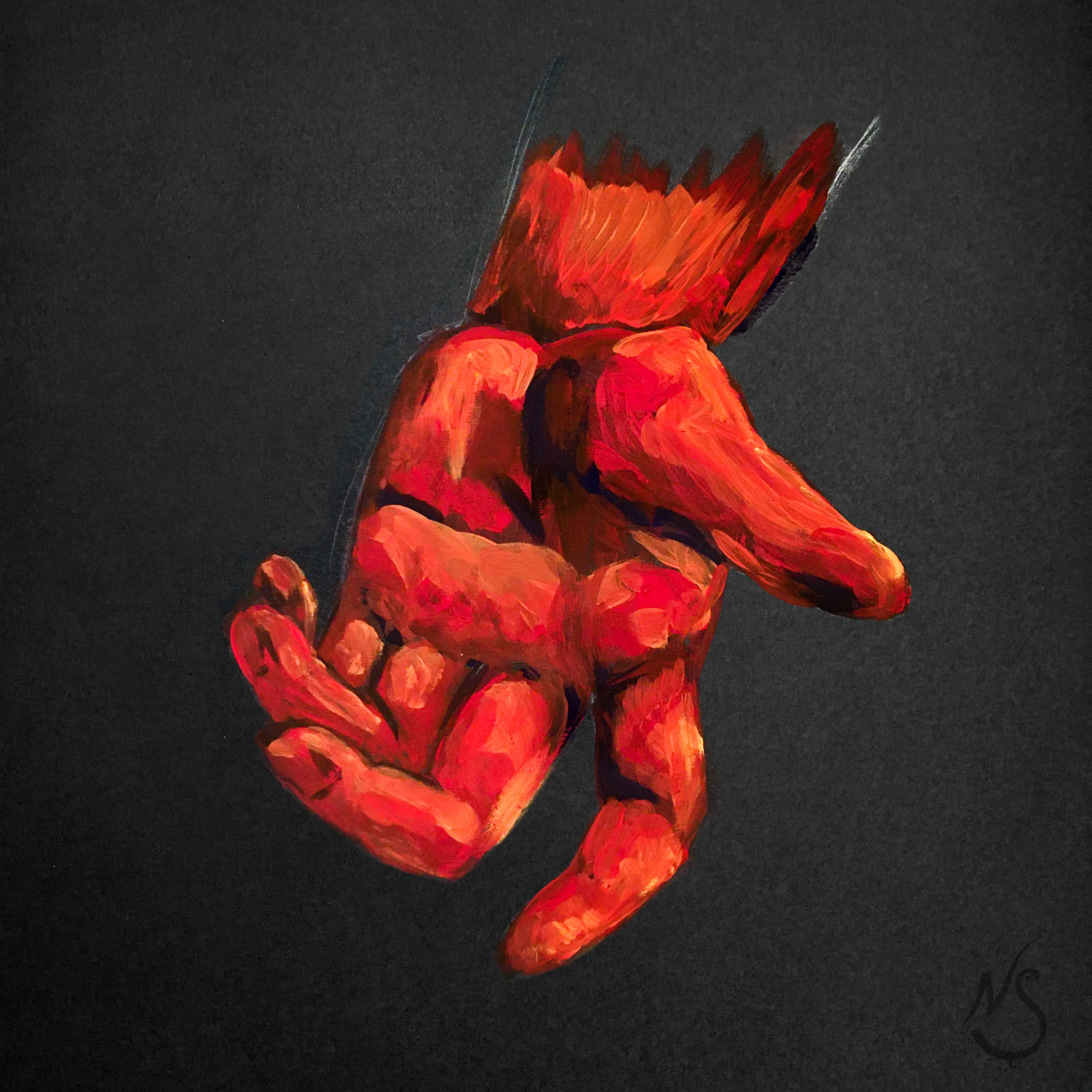 Huevember ✖ Hands: RED